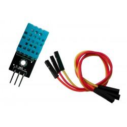 Sensor de Temperatura y Humedad Relativa del Ambiente DHT11