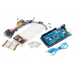 Kit Básico de Iniciación Arduino MEGA2560 Versión sin Logo