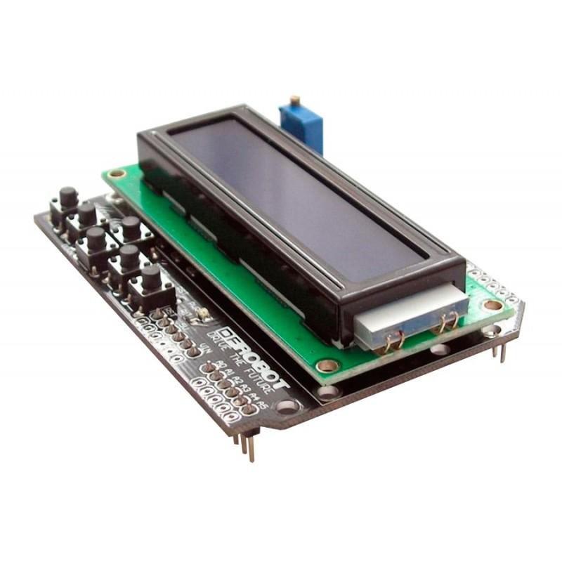 Arduino keypad shield lcd con pulsadores