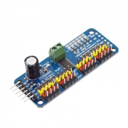 Módulo PCA9685 Controlador de Servomotores con 16 Salidas PWM 12bit