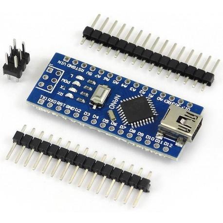 Arduino NANO Atmega328 Versión de Pines sin Soldar