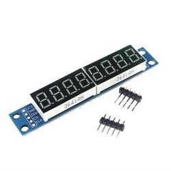 Módulo Display de 7 Segmentos con 8 Dígitos Basado en MAX7219