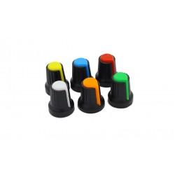Perilla Colores para Potenciómetro o Encoder Rotatorio