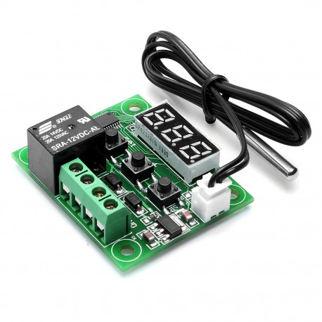 Interruptor Termostato Controlador de Temperatura ON OFF Modelo W1209