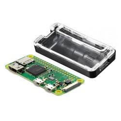 Pack Raspberry Pi Modelo Zero W con Case Negro Transparente