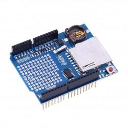 Shield Arduino UNO Data Logging con RTC DS1307 y Slot SD