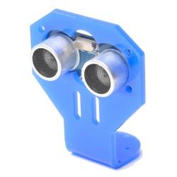 Soporte Acrílico Azul Servo Compatible para Sensor Ultrasónico