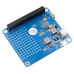Raspi UPS HAT v1.0 con Bateria 3.7V 1500mA Fuente de Poder Raspberry Pi