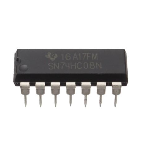Circuito Integrado : Ic hc n circuito integrado compuerta lógica dual and