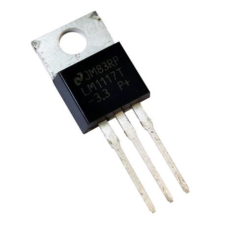 Regulador Lineal Low-Dropout LM1117 TO220 Versión 3.3 y 5VDC