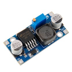 Módulo Convertidor Step-Down DC-DC Fuente de Poder Regulable LM2596