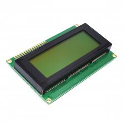 Display Alfanumerico LCD Amarillo 20x4 con Retroiluminacion LED