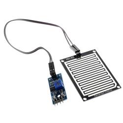 Sensor de Lluvia MH-RD YL-83 Salida Analógica y Digital ON-OFF