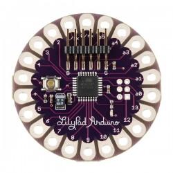 Arduino LillyPad + 10LEDs + 10Resistencias