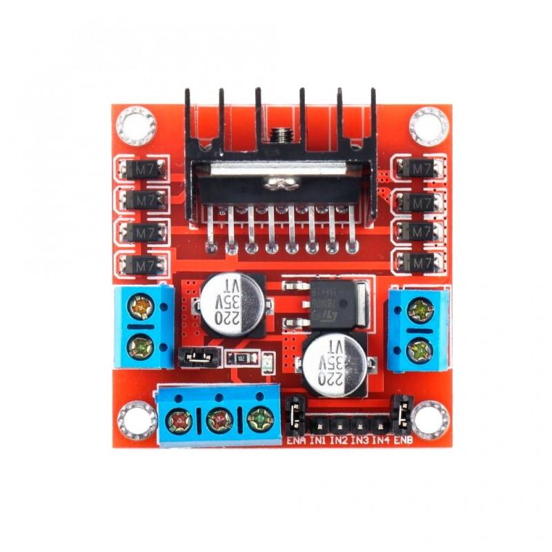 M dulo l298n puente h controlador de motores for La puente motors inc