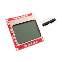 LCD Gráfico Monocromático 84x48 Píxeles Nokia 5110
