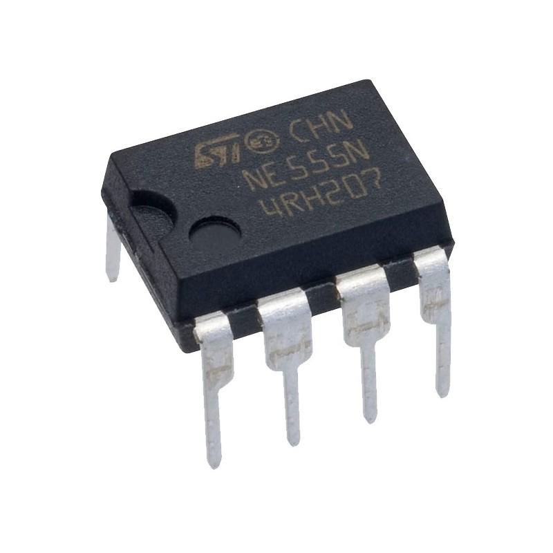 Circuito Temporizador : Circuito integrado temporizador timer ne