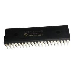 Microcontrolador 8bits Familia 18F PIC18F452 40 Pines
