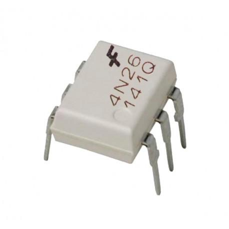 Circuito Optoacoplador : Optoacoplador con salida a transistor modelo n