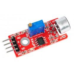 Sensor de Sonido Micrófono Módulo KY-037 con Salida Análoga Digital 0/1