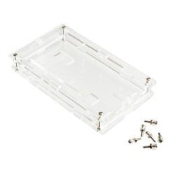 Caja Armable Arduino MEGA2560 R3 Acrílico Transparente