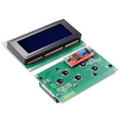 Display Alfanumérico LCD 4x20 incluye Interfáz I2C