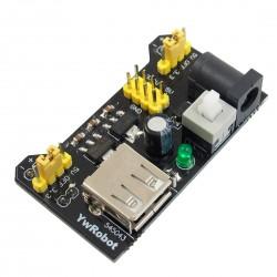 Mini Fuente de Poder para Protoboard con Salida de 3.3V y 5V