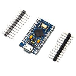Arduino Pro Micro Atmega32U4 + 10 LEDs + 10 Resistencias