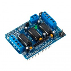 Arduino Motor Driver Shield L293D Controlador de Motores Puente H
